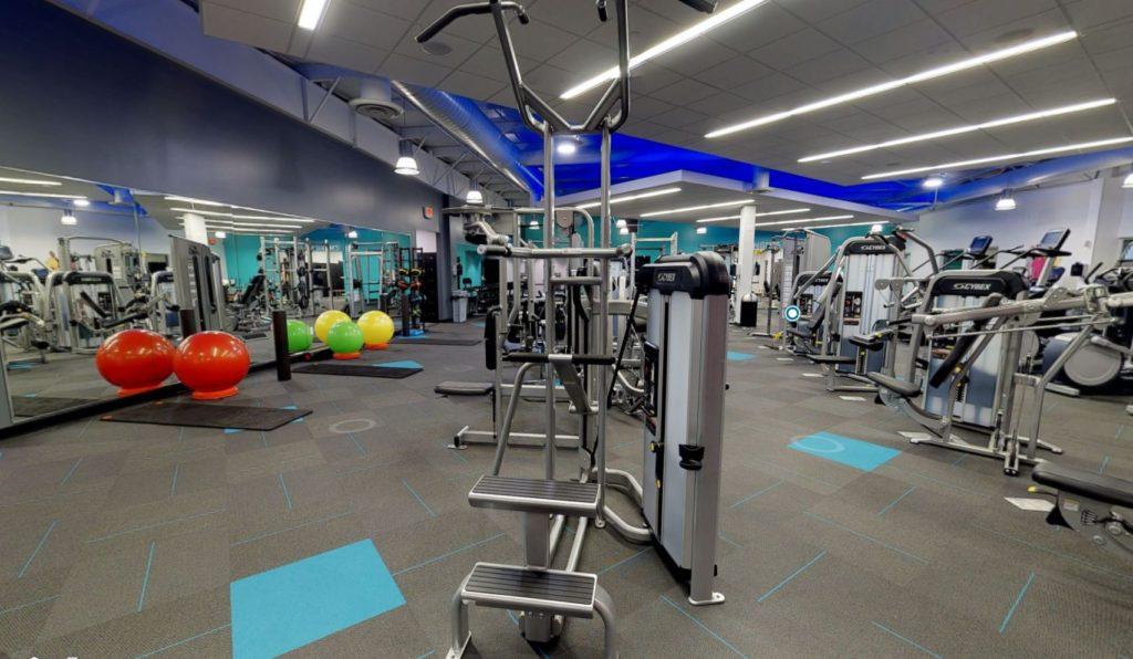 3D тур для фитнес клуба