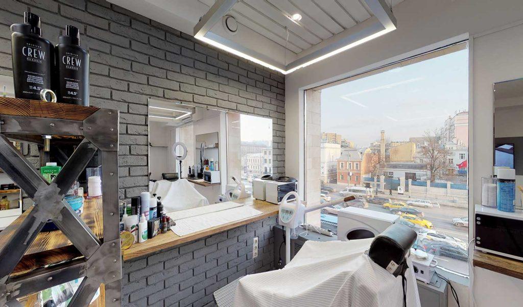 3d по салону парикмахерской