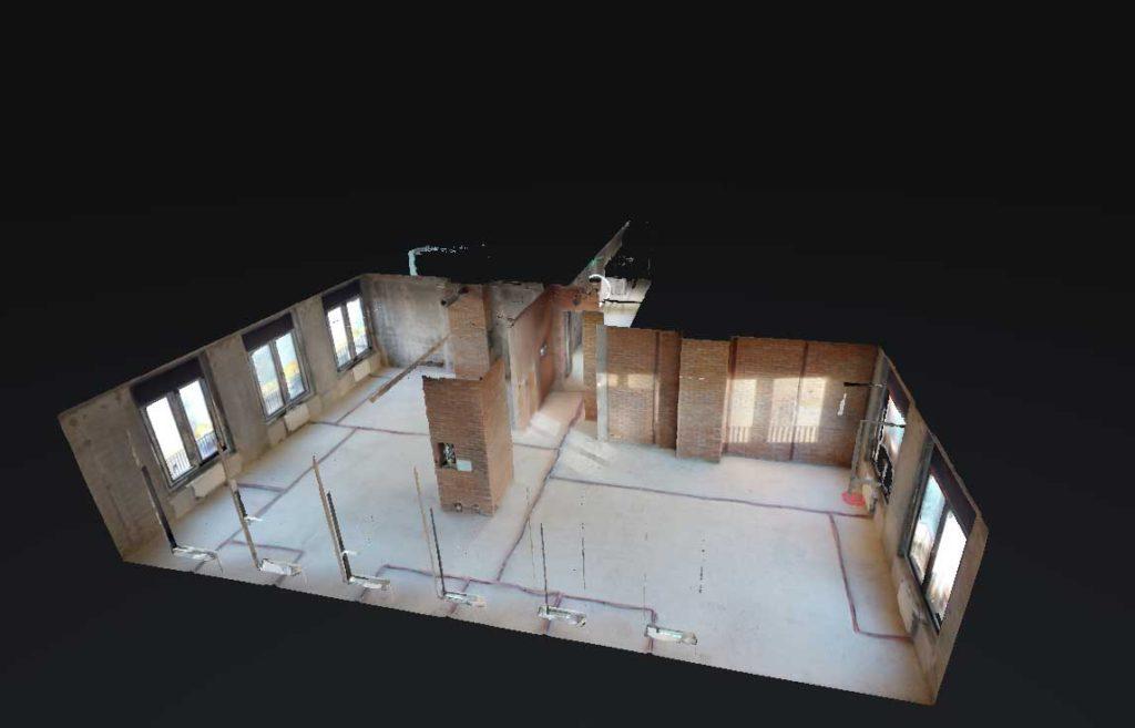 3D тур новостройка от ONE-VISION 3D план