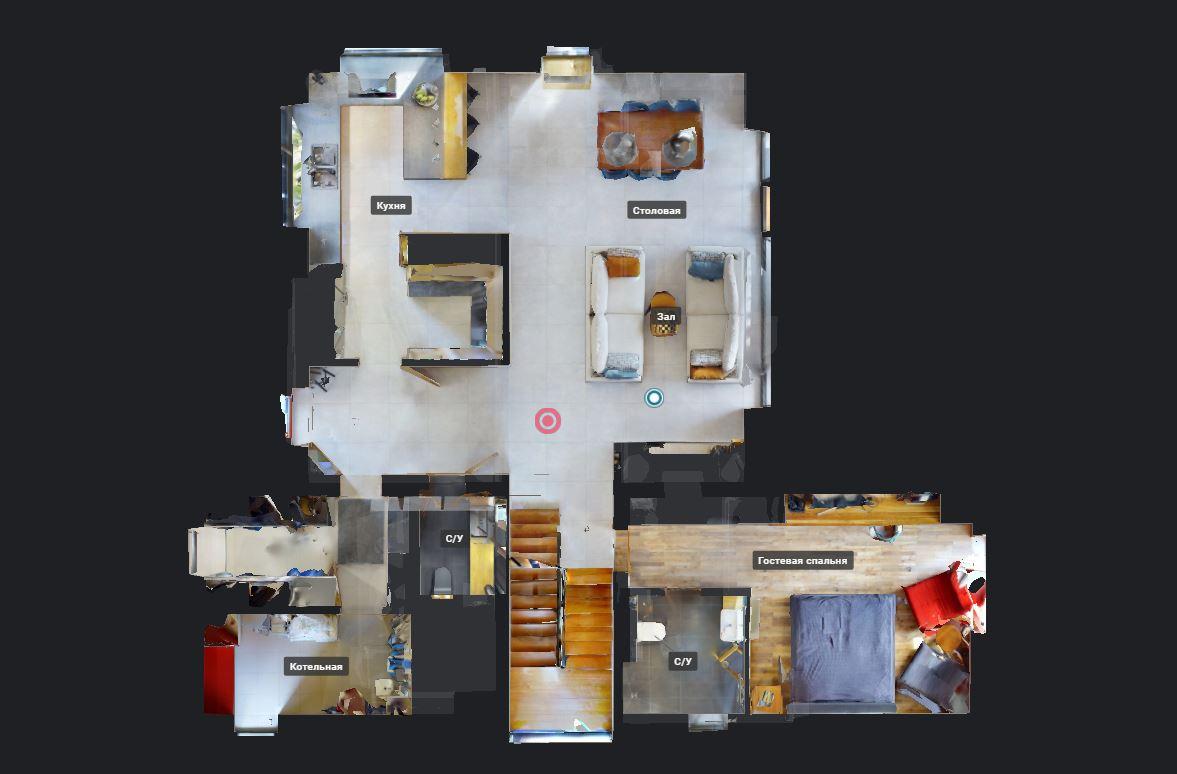 План 3Д тур Лофт