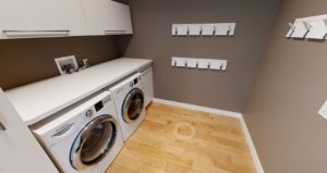 3D тур. интерьер современной квартиры в стиле лофт.