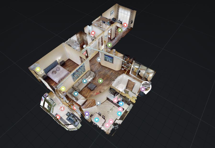 3D план 3D тур